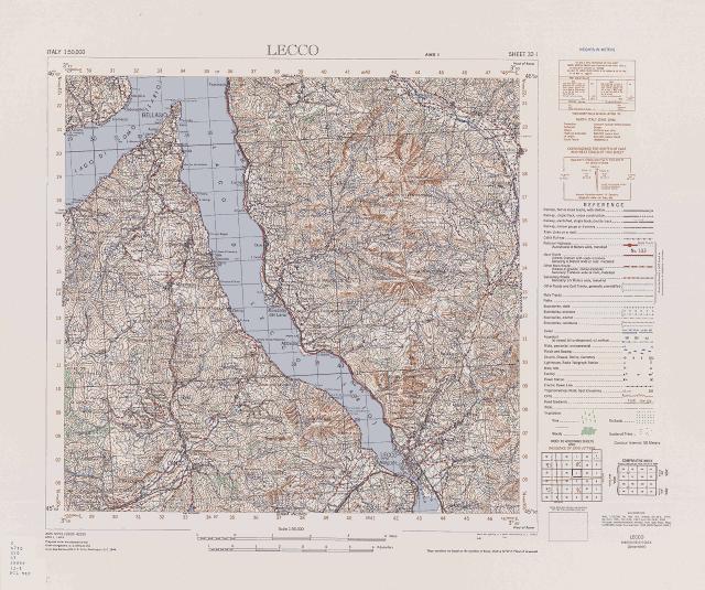 Cartina Igm Puglia.Mappe Italia 1 50 000 1941
