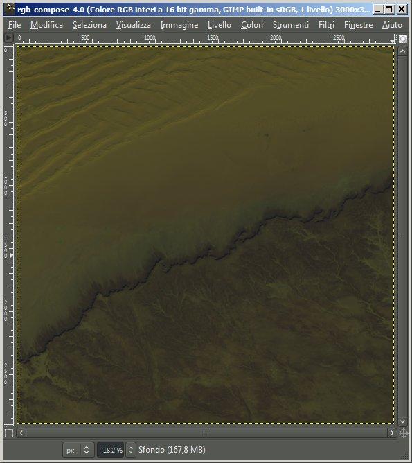 Gimp - miglioramento del contrasto